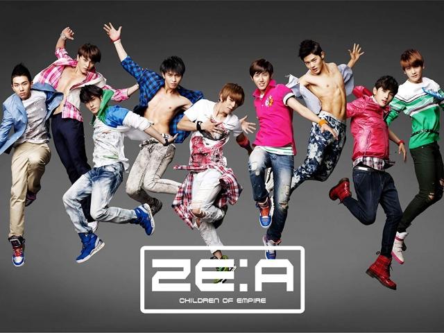 100922 일본 ZE:A! 앨범 자켓
